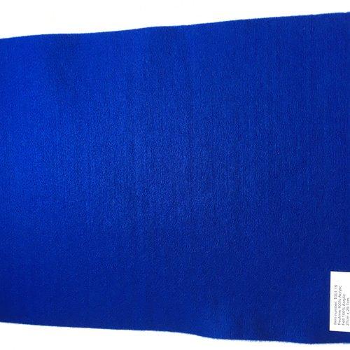 Feutrine, feuille a4, couleur bleu roy