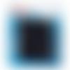 Boutons pressions, prym color snaps, motif ronds, diamètre 12,4 mm, tons bleu marine