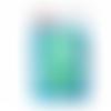 Boutons pressions, prym color snaps, motif ronds, diamètre 12,4 mm, tons vert menthe