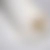 Molleton vlieseline, coton, largeur 150cm, couleur blanc, épaisseur 4 mm, vendu par 10 cm