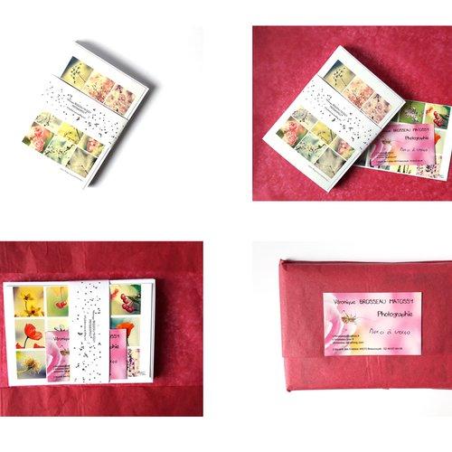 Carte De Condoléances Photo Fleur Myosotis