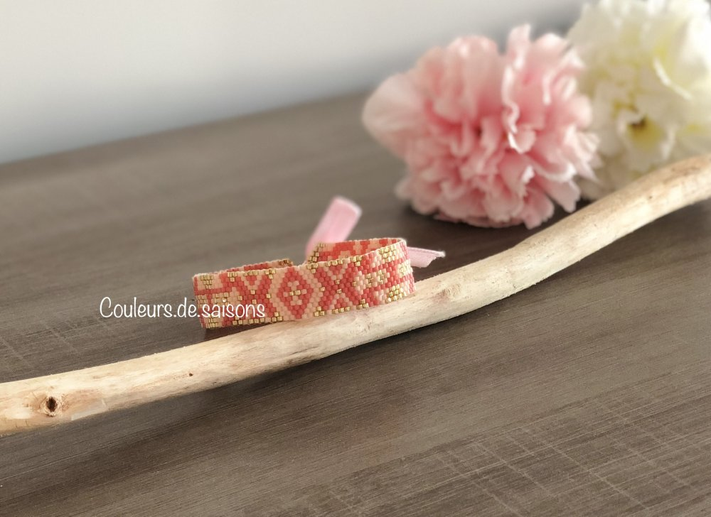 Bracelet-Manchette ♡ Charme ♡
