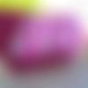 Compagnon portefeuille femme,pochette femme ,porte monnaie, suédine rose fuschia, style bohème, tissus liberty et japonais ro