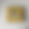 Livre éducatif jaune  - quiet book