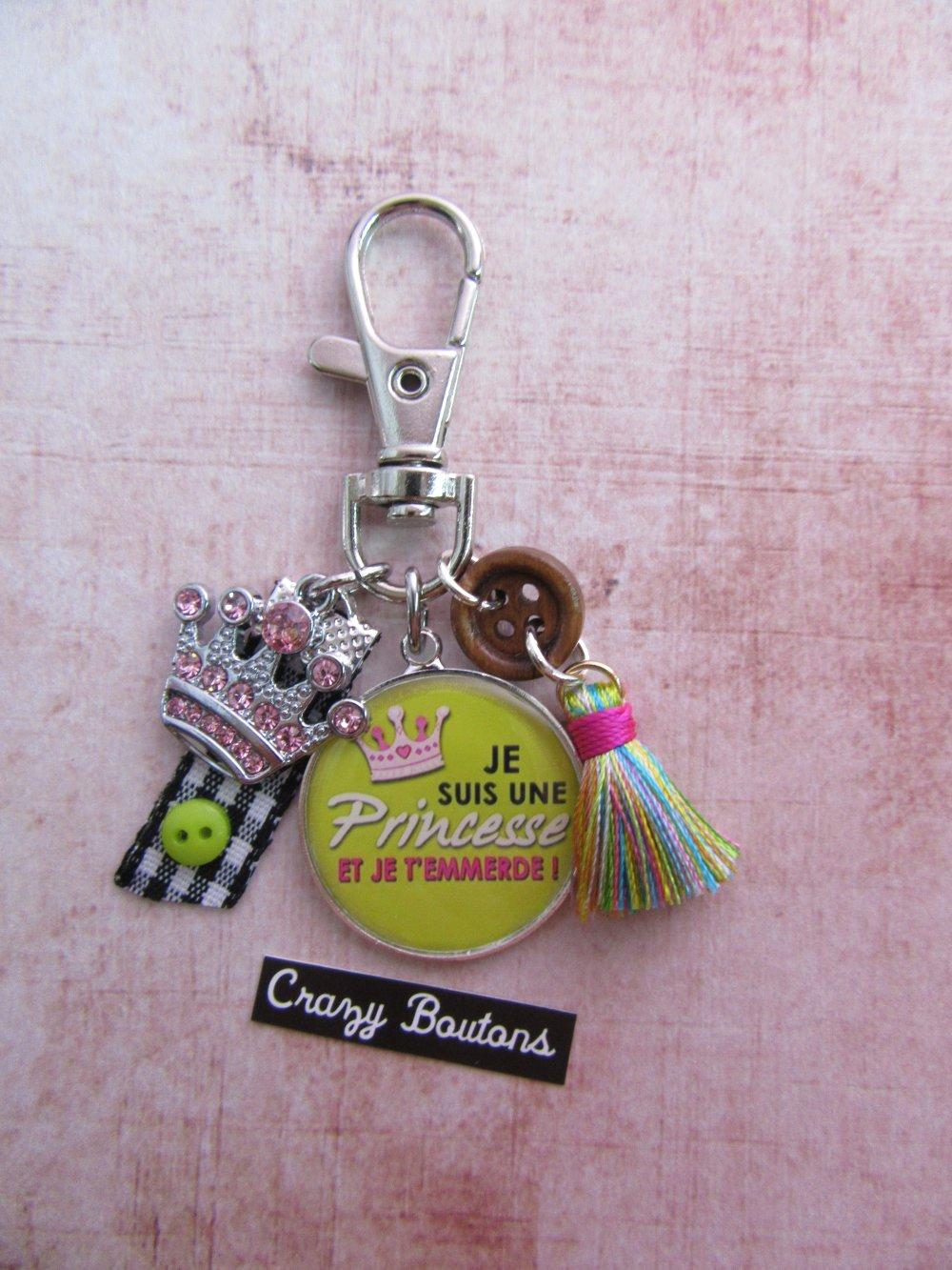 Porte-clés princesse