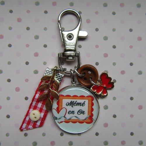 Porte-clés mémé
