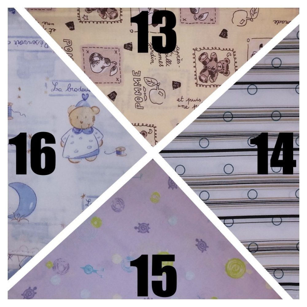 Masque de protection 3 couches pour garçon (3-6 ans), sur commande (motifs au choix).