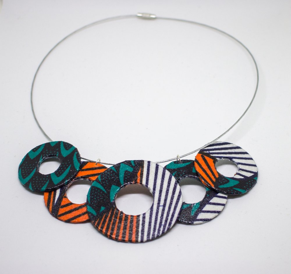 Collier ronds Wax
