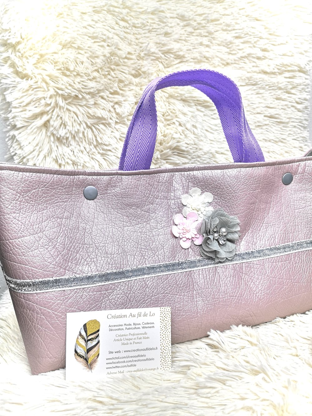 "Sac à Main ""Rose Nude"""