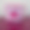 Vide poche princesse en tissu coton rose