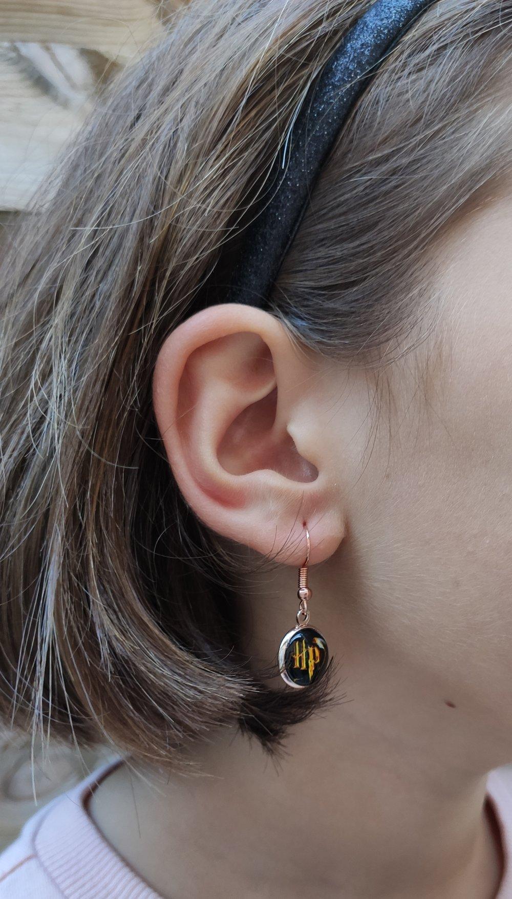 Boucles d'oreilles cabochons