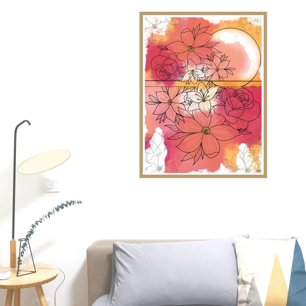 """Affiche A4 """"Le printemps"""""""