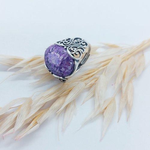 Bague violette