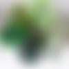 Rouleau de tulle vert, 5 tons de vert au choix, rouleau de 90 mètres, pour la confection de robes, de jupes tutu, la décoration