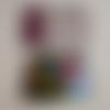 """10 grammes de confettis """" bouteille de champagne """" multicolore"""