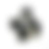 Perle indonésienne noire microbille