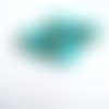 Perle indonésienne  microbille turquoise