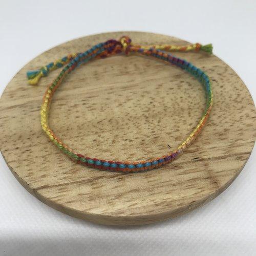 Bracelet brésilien flashy