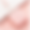 1 mètre ruban rose enrouleur couture boitier carré de couleur pastel
