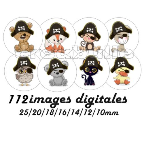112 images digital numérique toutes taille animaux pirate singe renard koala... pour scrap, bijou ou même couture sur flex imprimable