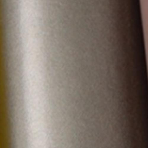 Coupon feuille de simili cuir irisé gris rosé 22x19cm