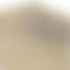 Coupon feuille de simili cuir 20x33,5cm dorée brillant avec relief papillon