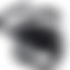 Élastique plat 6mm 0,6mm elastic idéal pour fabriquer des chouchou ou masque.... noir