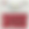 Bouton pression plastique babysnap rouge