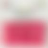 Bouton pression plastique babysnap fushia