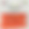 Bouton pression plastique babysnap orange