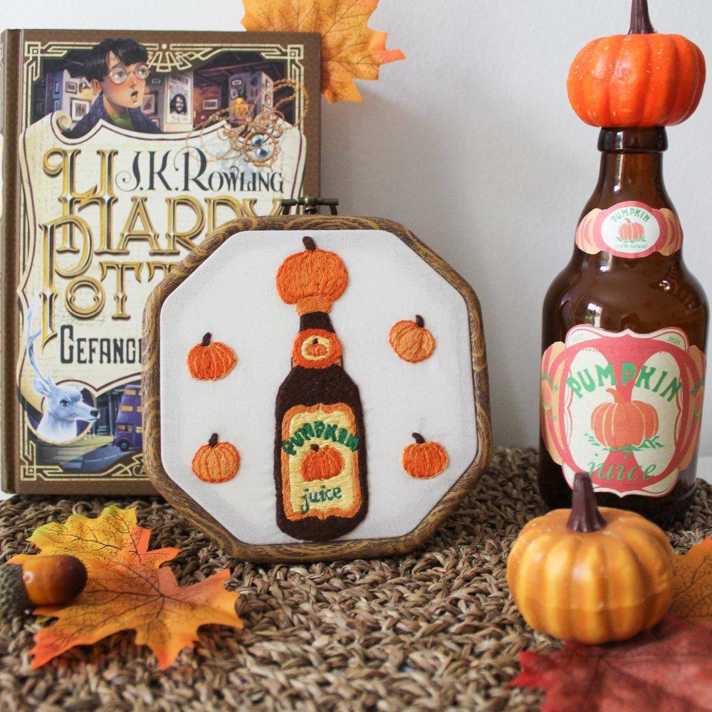 Pumpkin Juice bottle