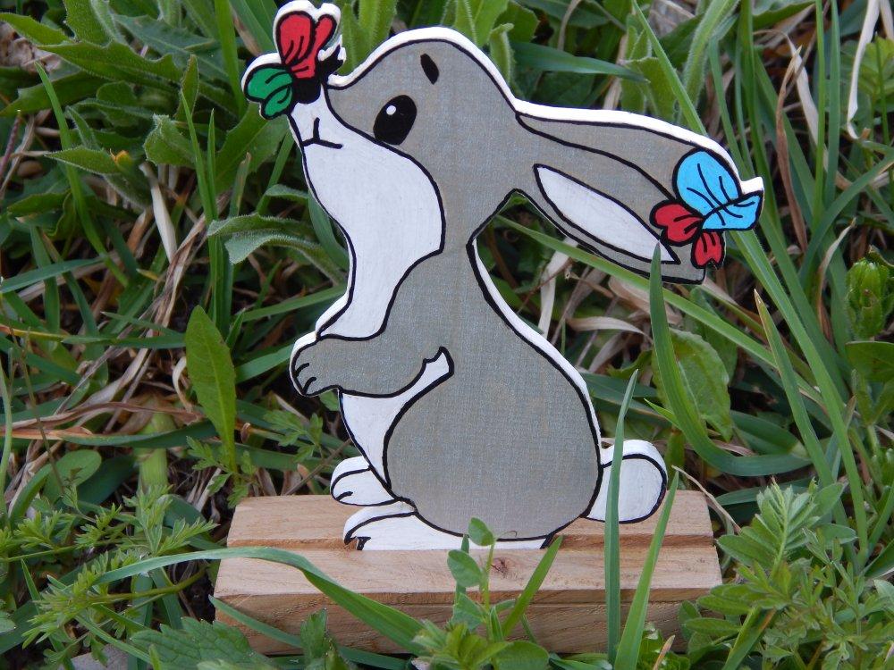 Figurine Lapin de Pâques
