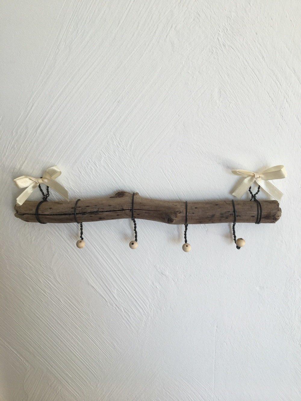 Bois Flotté Porte Photo porte colliers, sautoirs, en bois flotté
