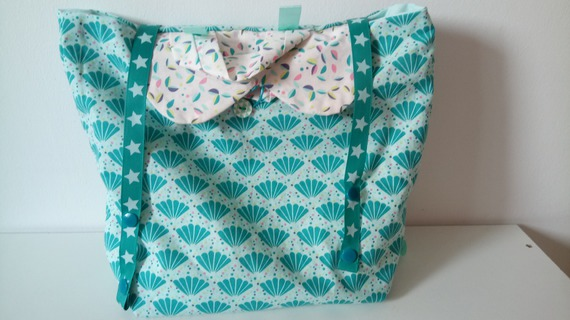 Sac a dos maternelle Paon