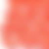 2 perles coquillages cauris 10 mm laqués orange