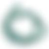 4 perles tortues howlite turquoise