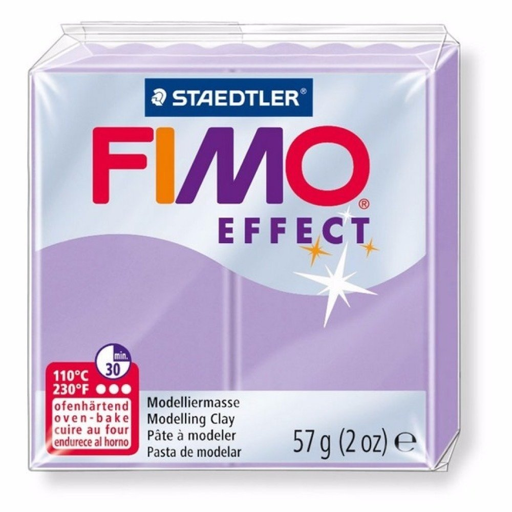 Pâte FIMO Effect Lilas Pastel 605 57gr