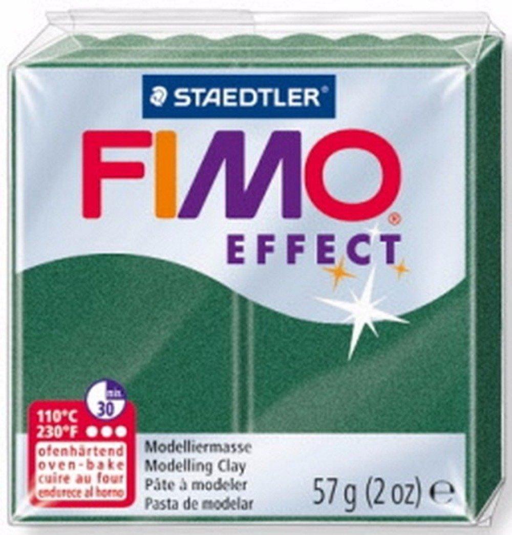 Pâte FIMO EFFECT Emeraude Metallisée 58 57gr