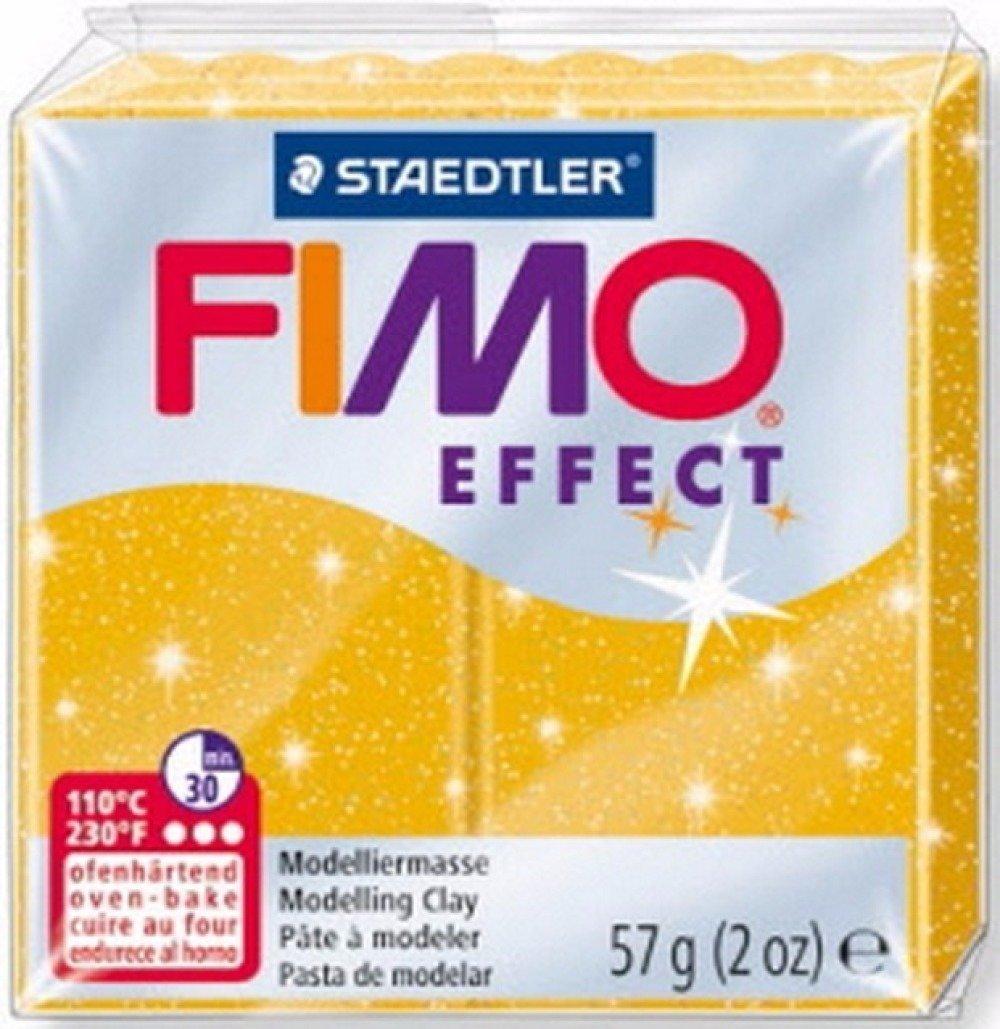 Pâte FIMO Effect Or Pailleté 112 57 gr