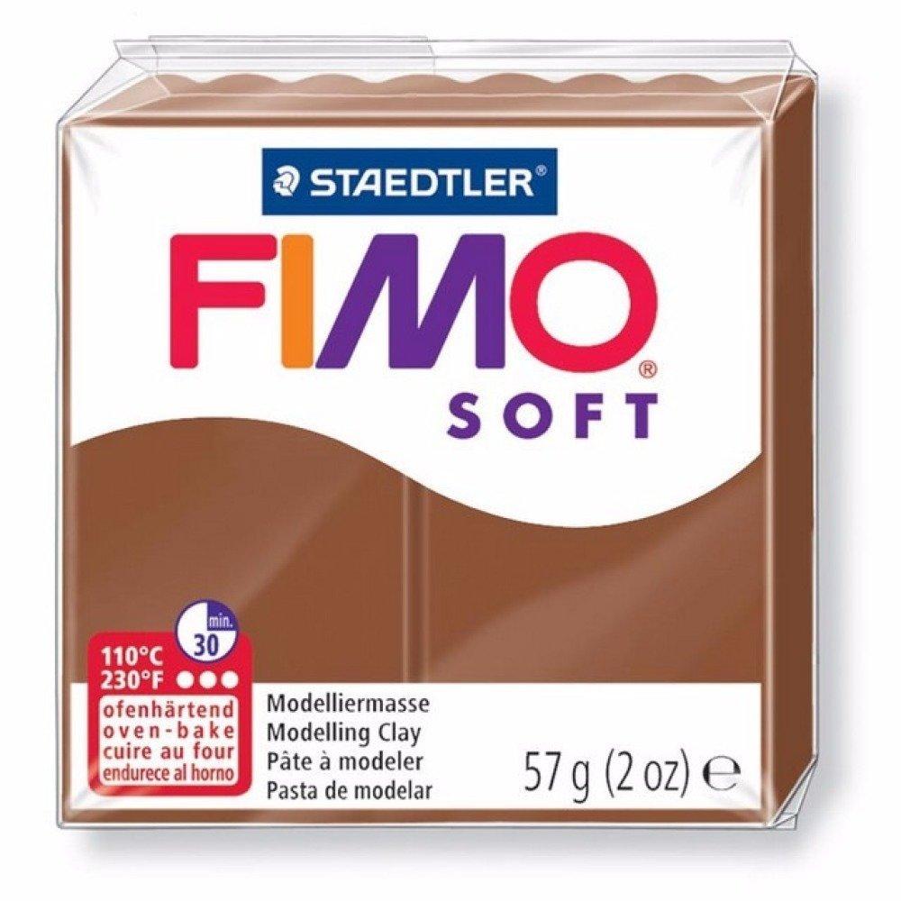 Pâte Fimo Soft 57gr Caramel n°7