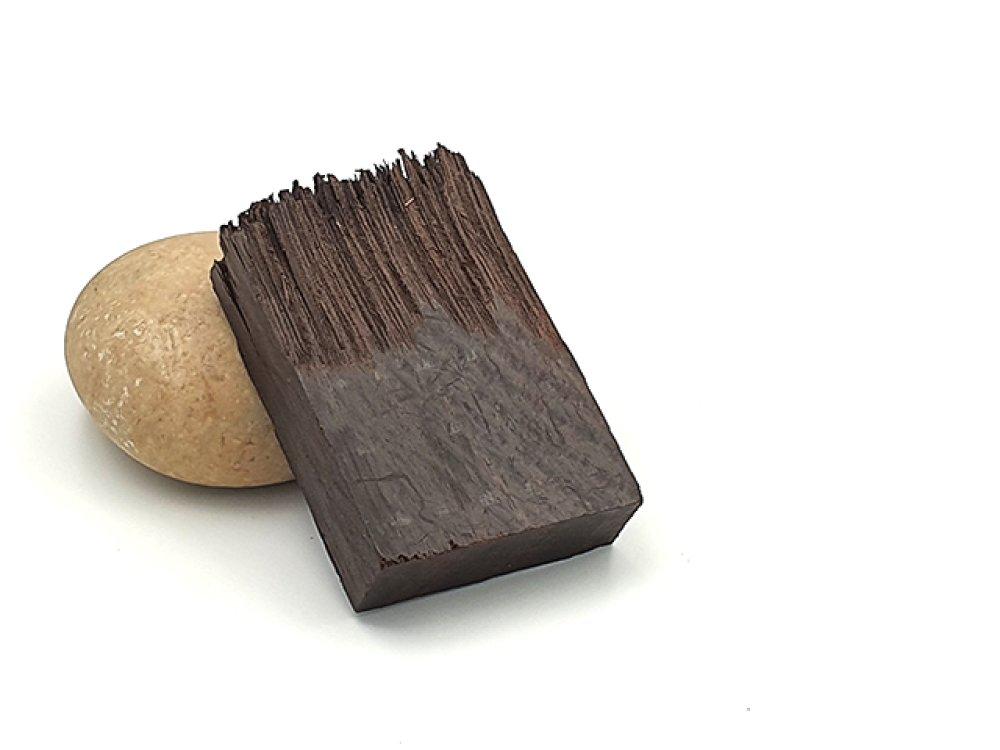 Rectangle en bois de santal 52mm pour créations en résine