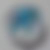 Cabochon de verre, image éléphant,14 mm,