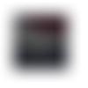 Chaîne 50cm maille carrée 2mm en acier inoxydable