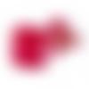 50 x sachet organza 9cm x 7cm couleur rouge cerise