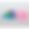 100 x sachet organza 9cm x 7cm couleurs mixtes