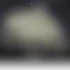 85 perles rondes 10mm en verre nacré couleur ivoire