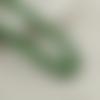 30 x perle ovale 15mm x 7mm en bois couleur vert tacheté