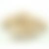 200 x perle ronde 12mm en bois couleur naturelle