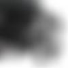 750 perles rondes 4mm en bois couleur noir