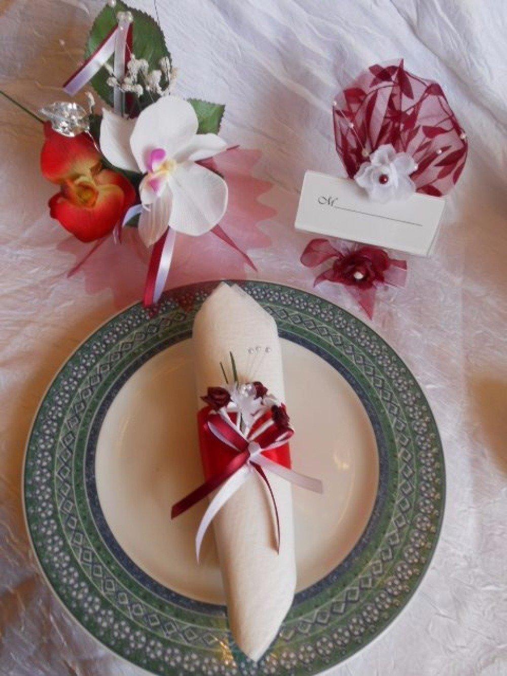 Rond De Serviette Noel Fait Maison rond de serviette mariage